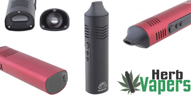 Budspirit Conqueror Herbal Vaporizer